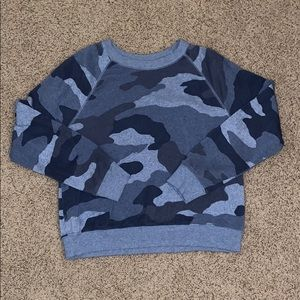 super cut blue camp aerie sweatshirt